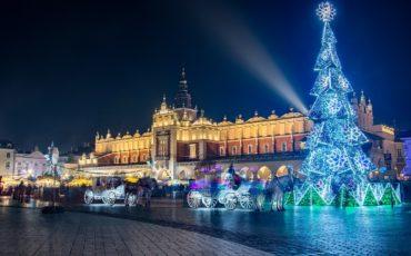 Montaż ozdób świątecznych w Krakowie